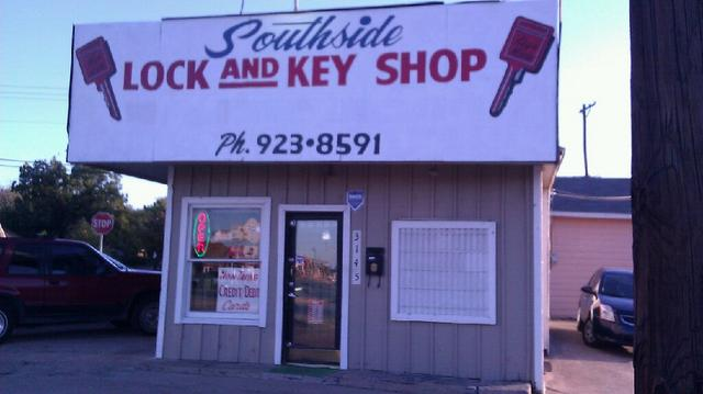 Southside lock and key